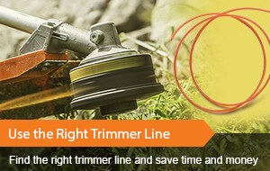 Use the Right Trimmer Line